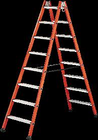 Fiberglas Stufenleiter