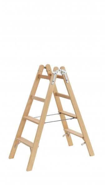 Holzleiter Stufen TRBS-Konform