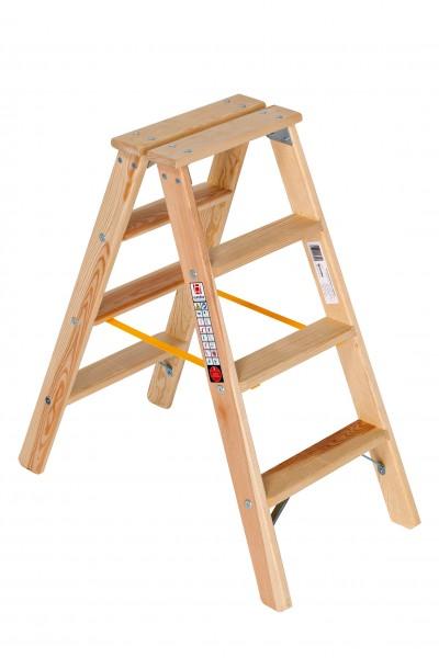 Holzleiter Stufen