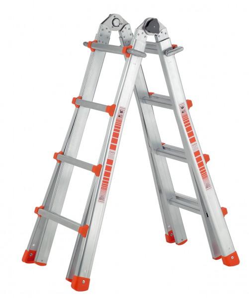 Profi-Aluminium-Teleskopleiter 985
